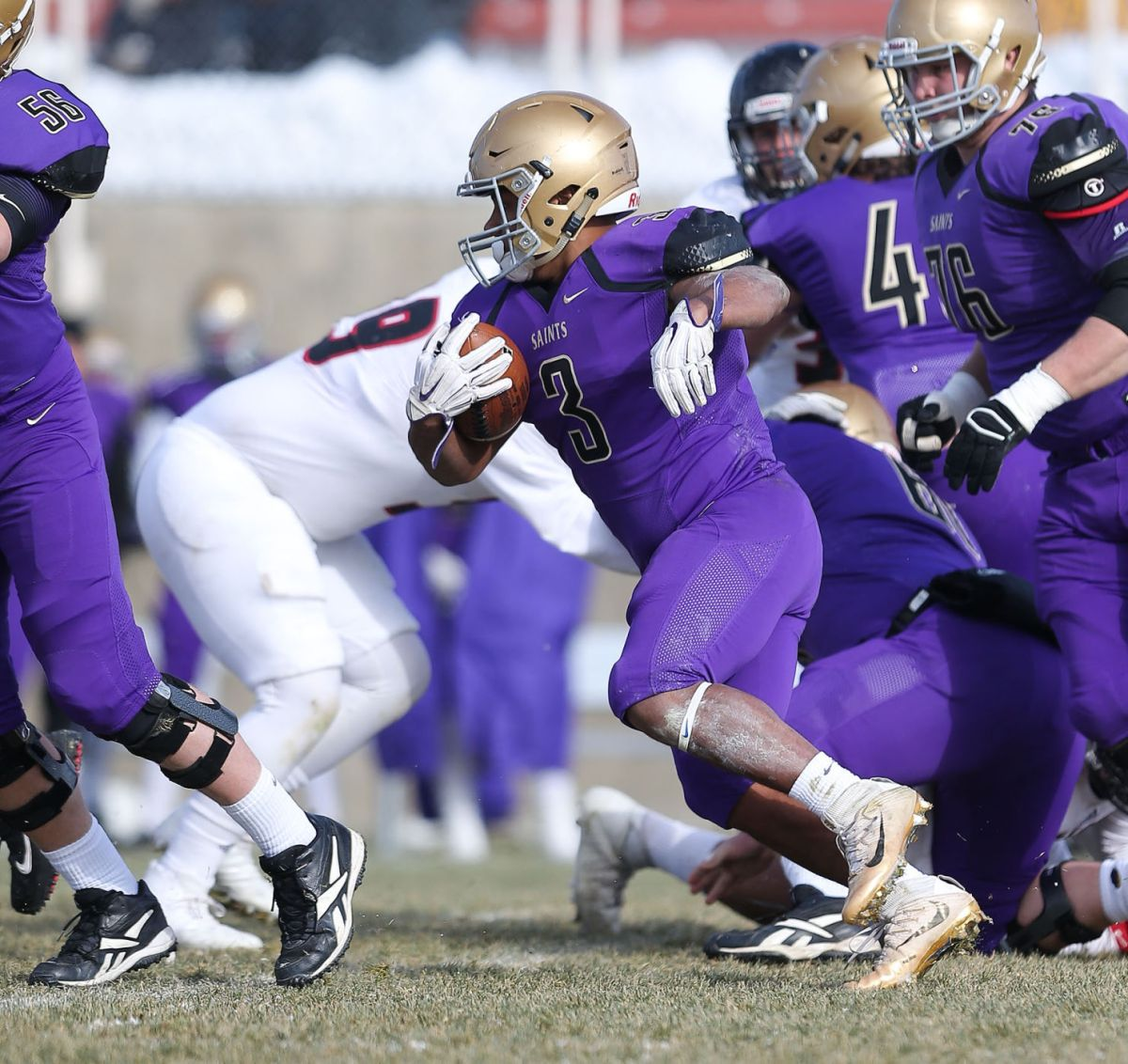 Eight Saints named to All-Frontier football teams | Carroll College ...