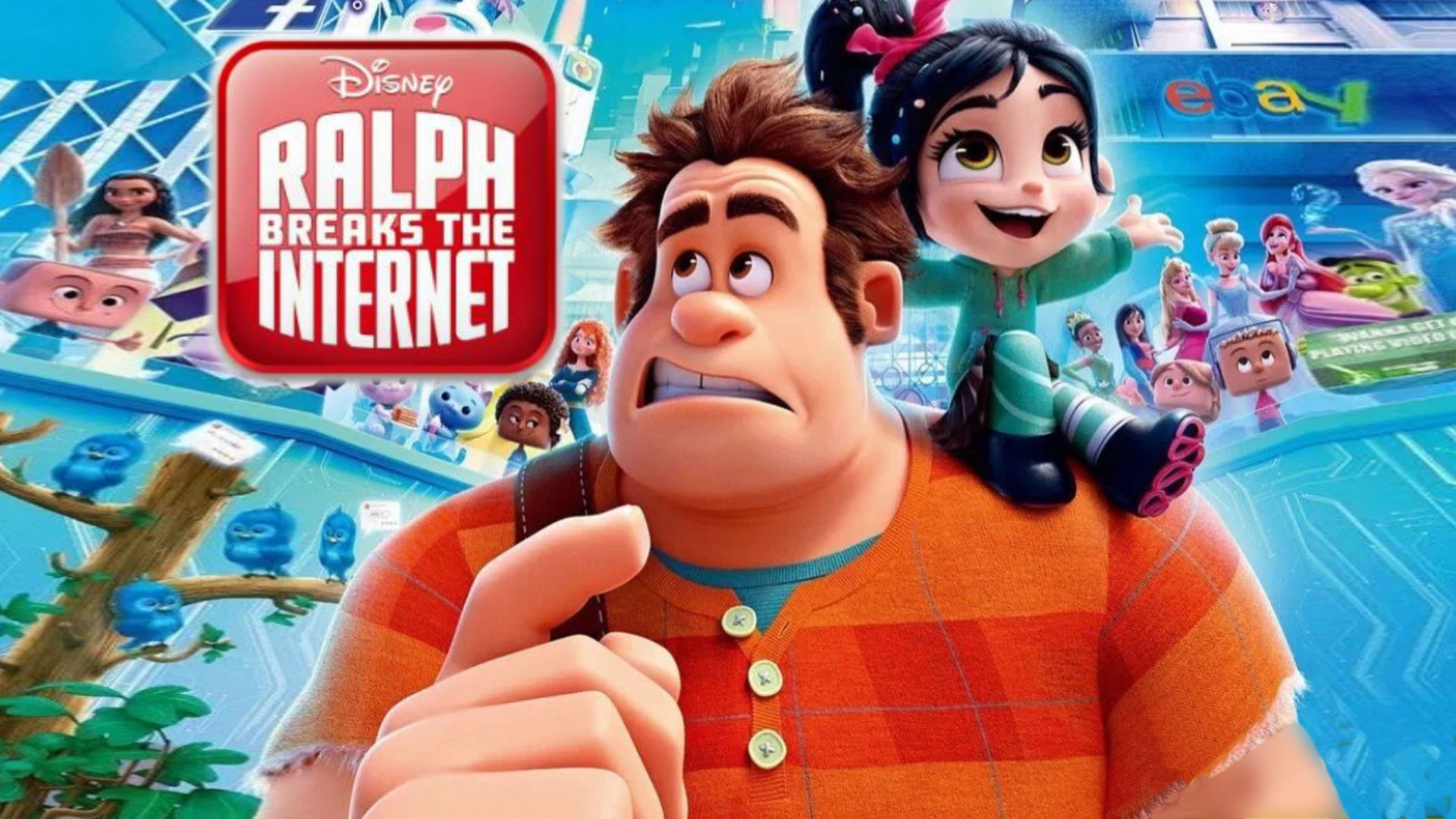 Ralph Breaks The Internet 2018 Disney Plus Informer