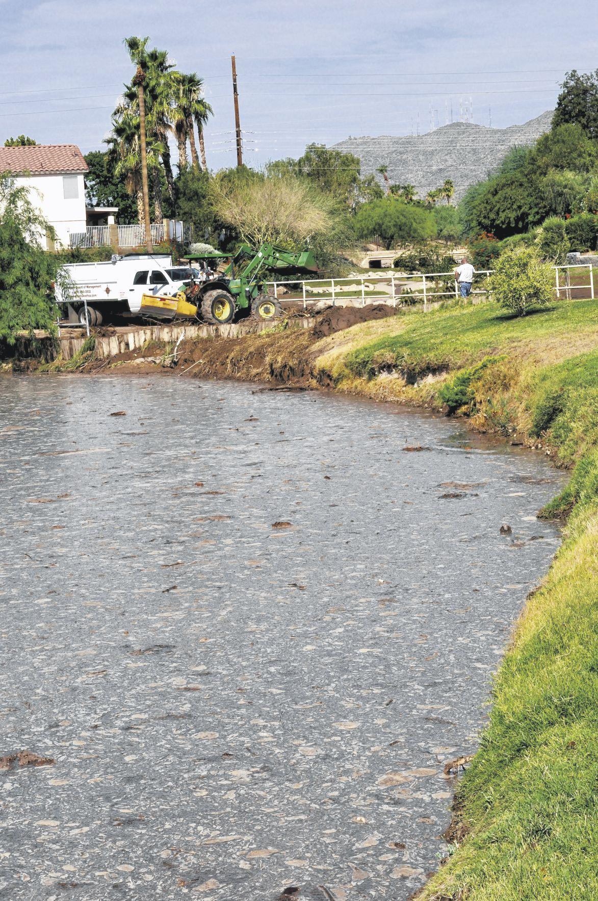Downpour floods Ahwatukee streets exacerbates conditions