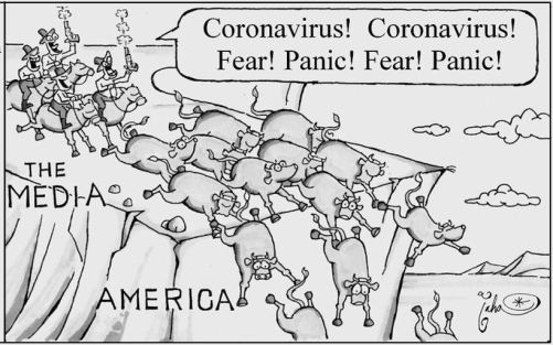 The Media-Produced Fear Is What's Killing Our Country, Not The Coronavirus | Coronavirus | anchoragepress.com