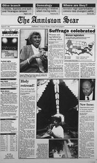 Newspaper Archives Annistonstar