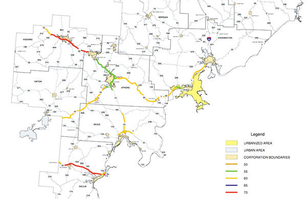 New bypass gets 70 speed limit, but for our area that's