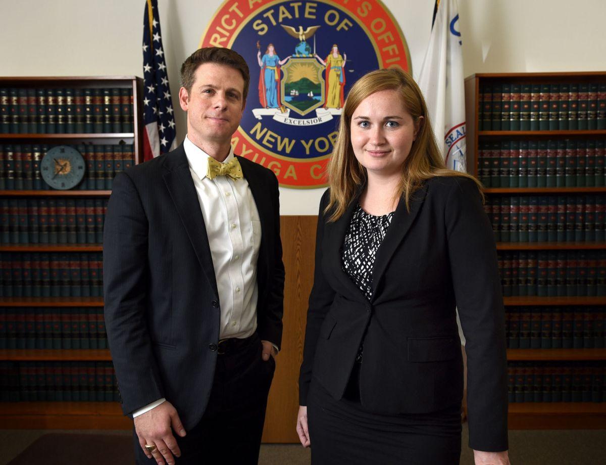 Cayuga County DA welcomes new assistant district attorneys  Local News  auburnpubcom
