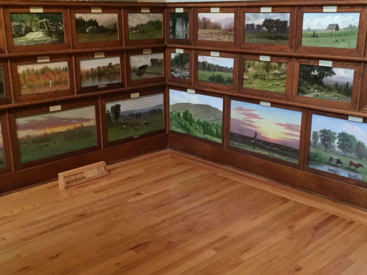 'little Piece Of Heaven' John . Barrow' Landscapes