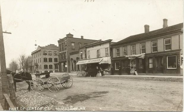 Randall Old postcards tell much about Weedsport history