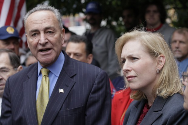 Gillibrand Schumer sign letter asking Senate Majority