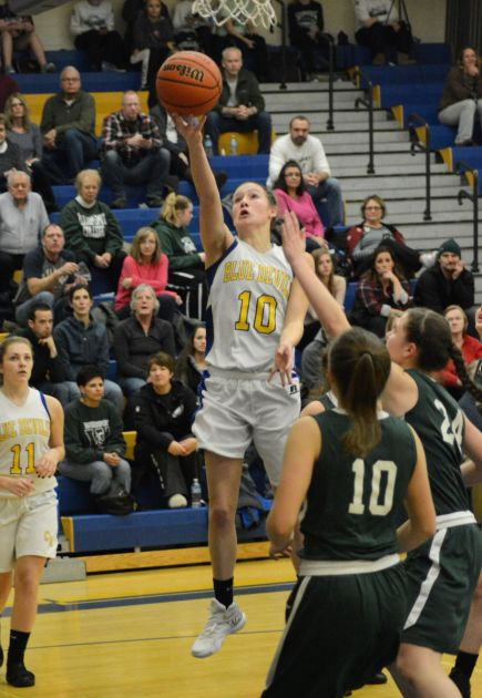 CatoMeridian girls basketball team pulls ahead in third