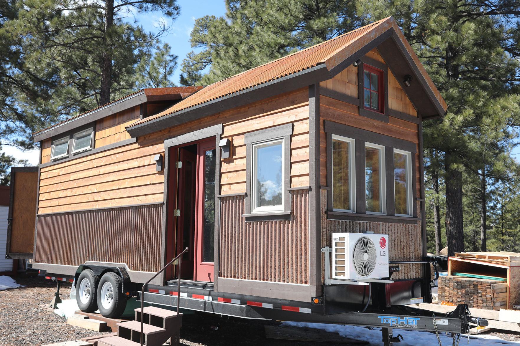Tiny Houses Find A Home In Flagstaff News Azdailysun