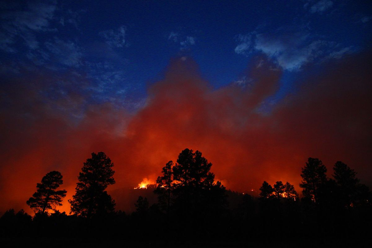 Fire Tusayan 40 Contained; 5th Straight Day In Flagstaff Over 90 Local