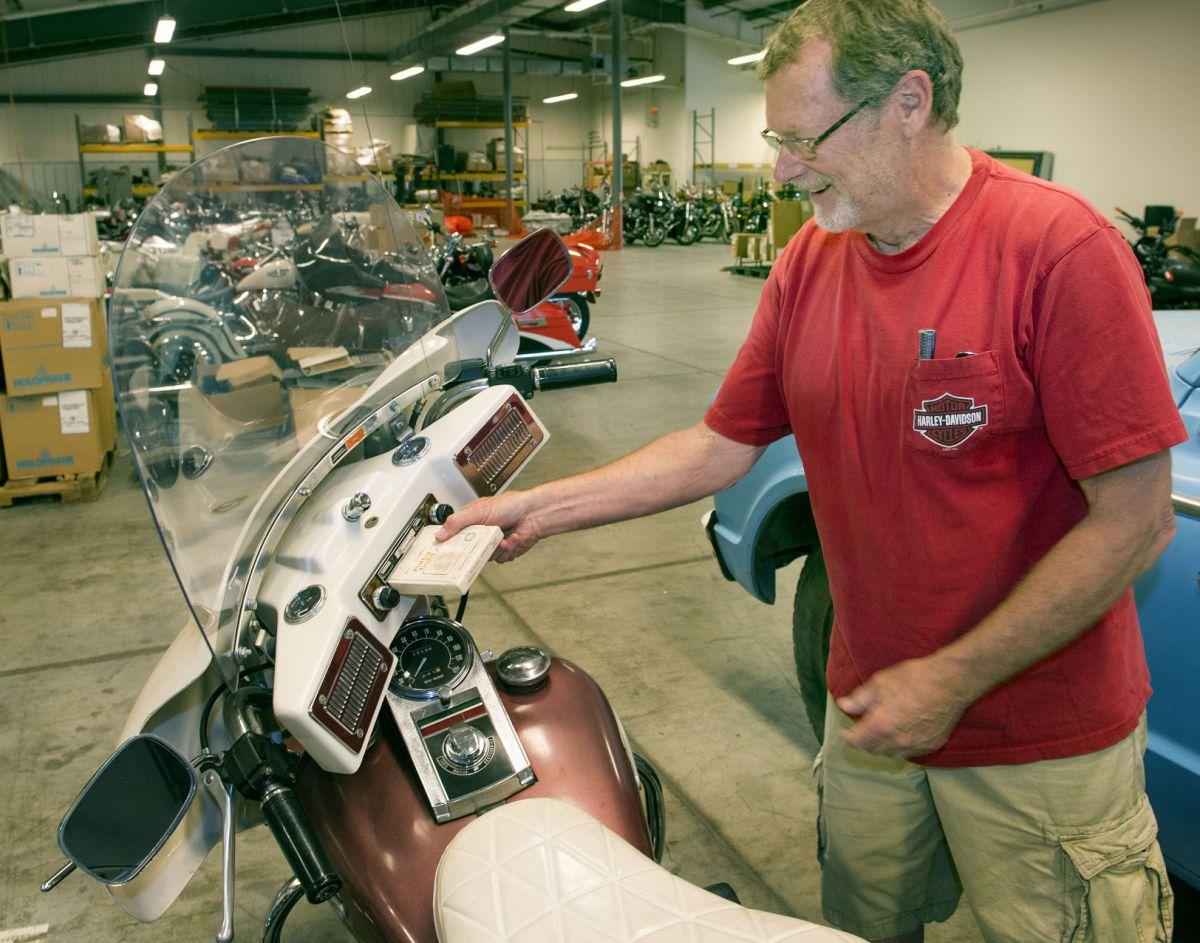 ' Piece Story' Longtime Harley Dealer