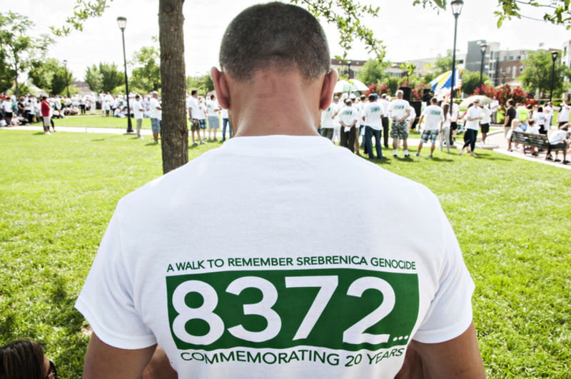 Community honors 20th anniversary of Bosnian genocide