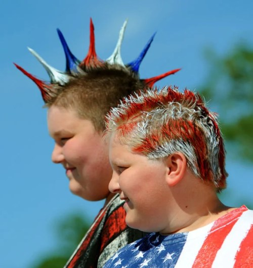 patriotic usa hairstyles