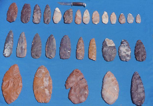 Archaeologist Indigenous Skills Teacher Explain Shields