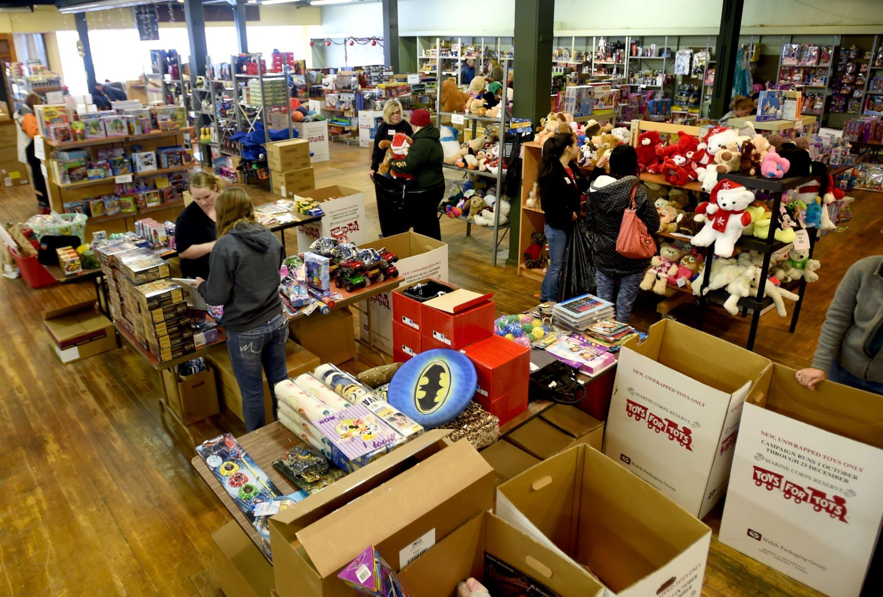Toys For Tots Serving A Record Number Of Families Local