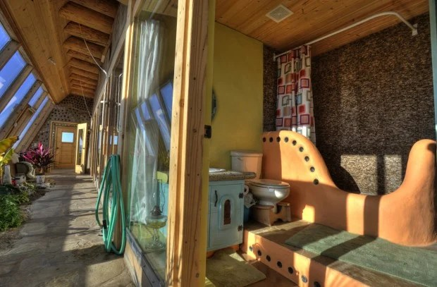 Earthship Experience 8 Weeks 650 Tires Thousands Of Pop