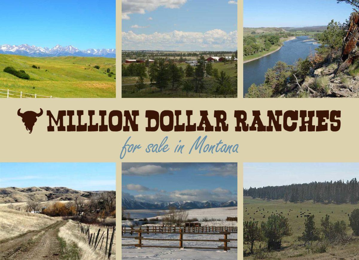 Million Dollar Homes for Sale Montana