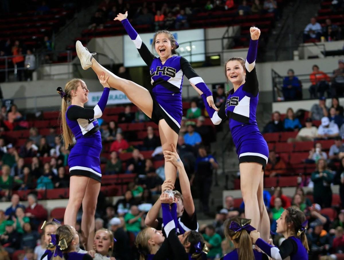Montana High School Cheerleader