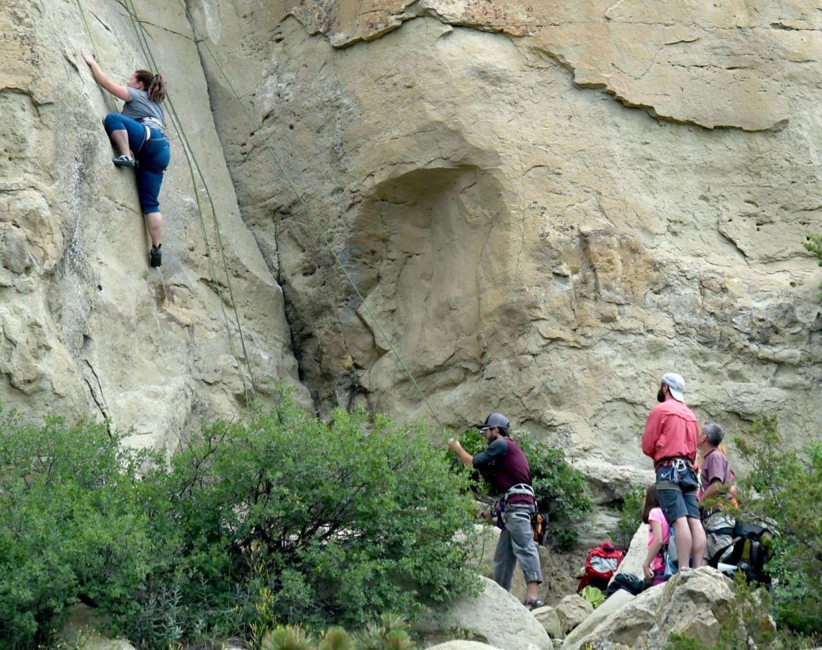 Climbing Billings Rims