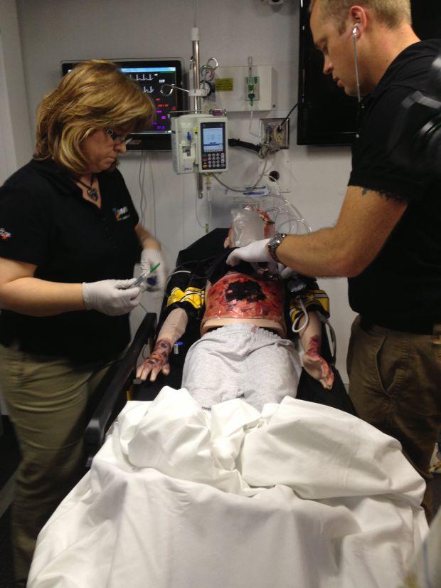 Emergency Medical Simulation Trucks Bring Trauma Scenarios
