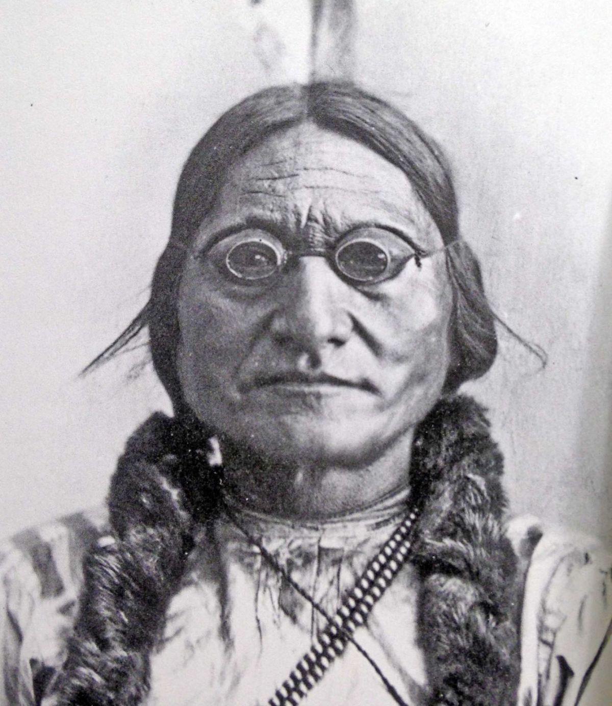 125th Anniversary of Sitting Bull Death  Tribune Photo