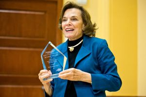 Oceanographer Sylvia Earle Receives the Ronald B. Tobias Award at MSU