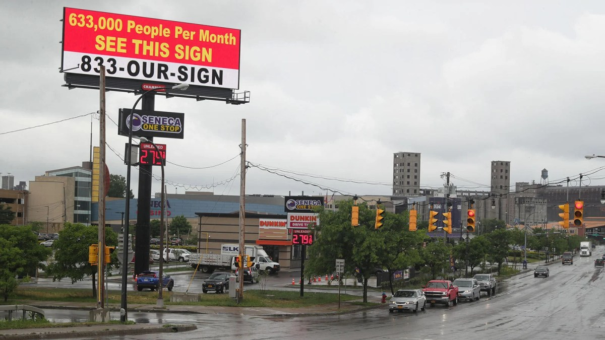 Gas station advertising places your brand messaging where it'll gain maximum traction. Billboard Near Buffalo Casino Is A Sign Of Times For Seneca Nation Local News Buffalonews Com