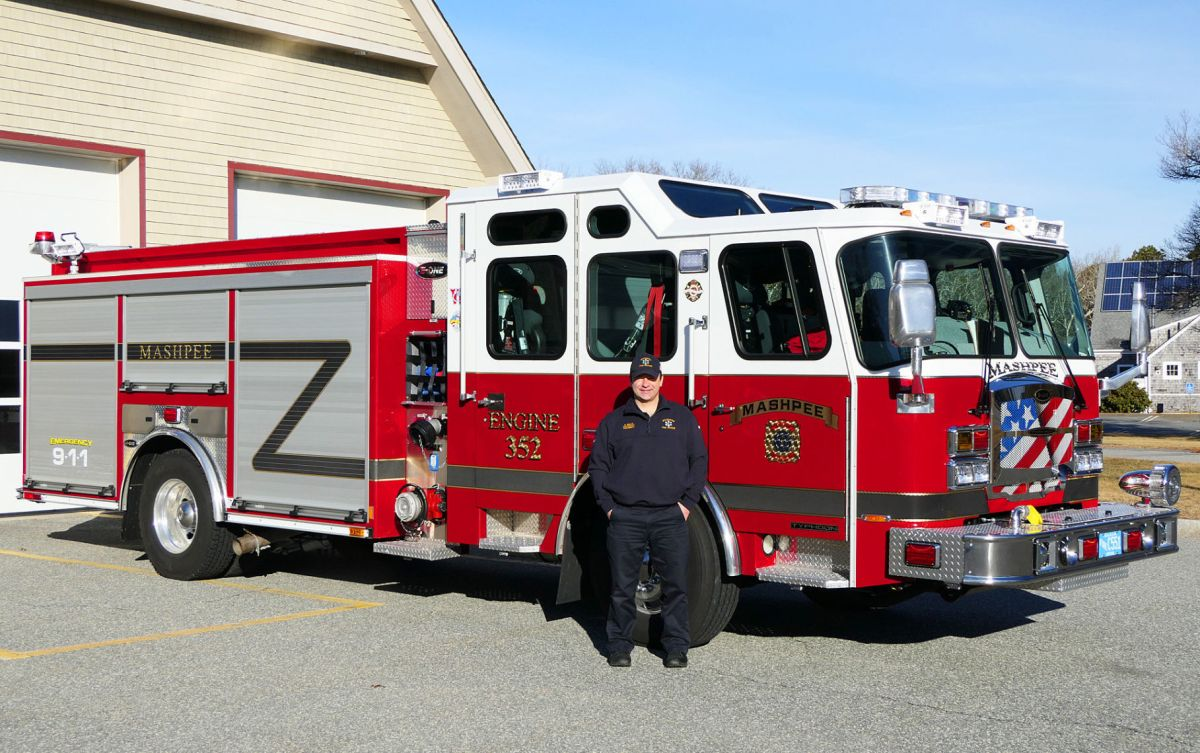 hight resolution of mashpee fire department new fire engine
