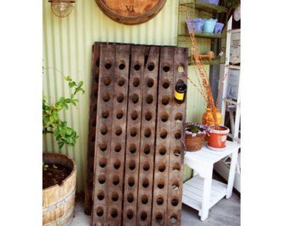 a riddling rack home