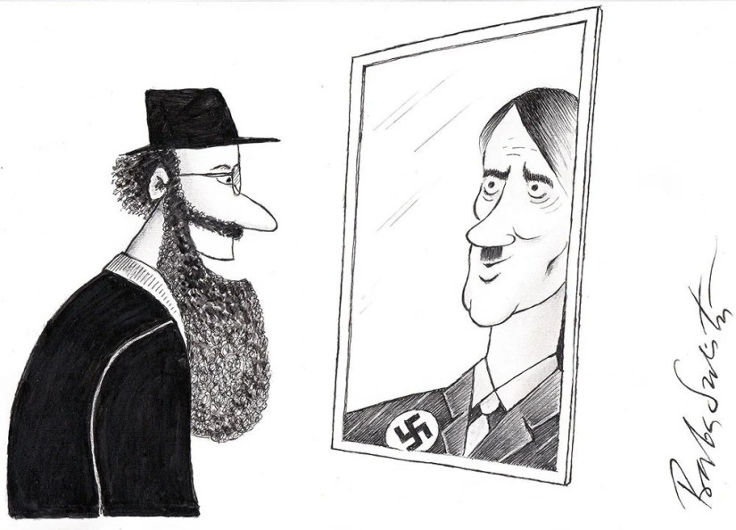 Image result for anti semitic cartoon