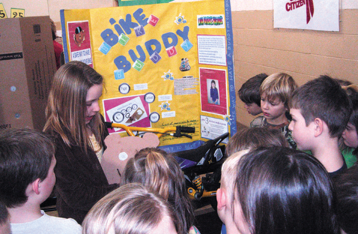 inventors display creations solutions