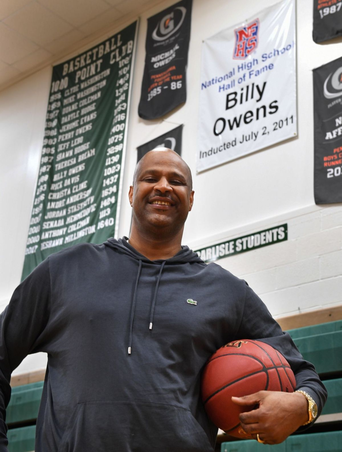 Billy Owens Kevin Durant studied him fans idolized him his son is trying to follow him  Boys
