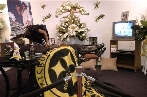 Exhibit Steelers fans do more than just cheer
