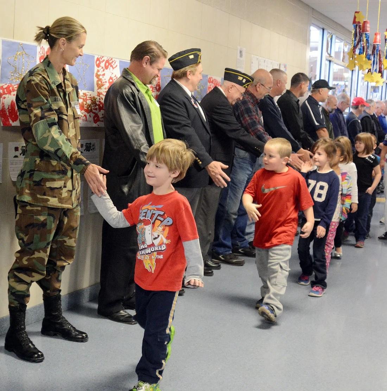 Veterans Day At Middleburg Elementary