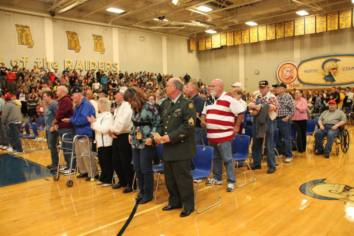 North County High School To Hold Veteran S Day Assembly