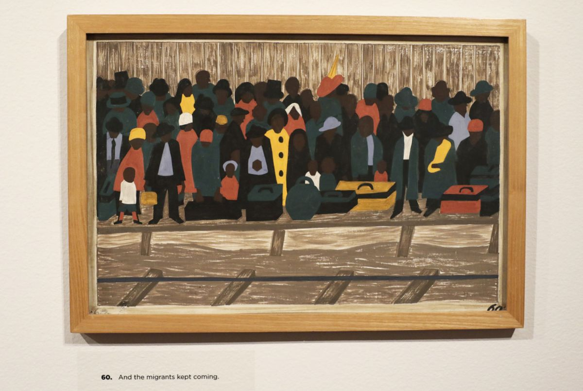 Exhibit Jacob Lawrence Migration Series