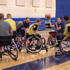 Wheelchair Volleyball Personalized Rocking Chair For Toddlers Taking It To The Next Level Team Navy Trains Warrior Games 2017 Camp Focuses On Basketball Sitting And Swimming Help Prepare Athletes