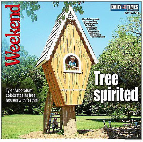 Tyler Arboretum Celebrates Life Amid The Green With Annual Tree House Festival Weekend Delcotimes Com