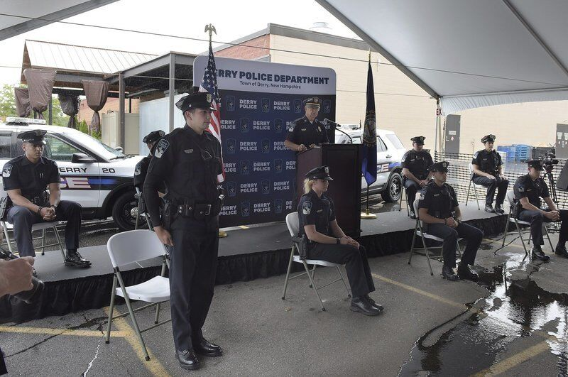 Derry police promote. welcome new officers | News | derrynews.com