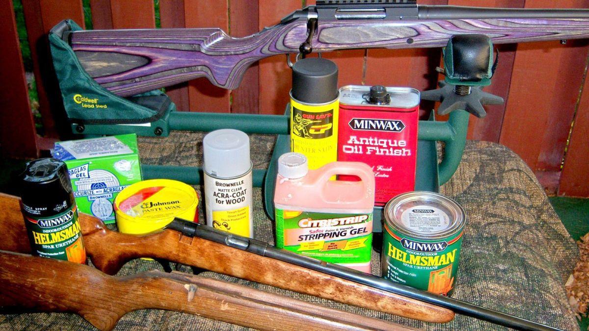 Minwax Polyurethane Gun Stock