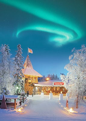 A Visit to Santas Village in the Arctic Circle  Feature Stories  emissouriancom