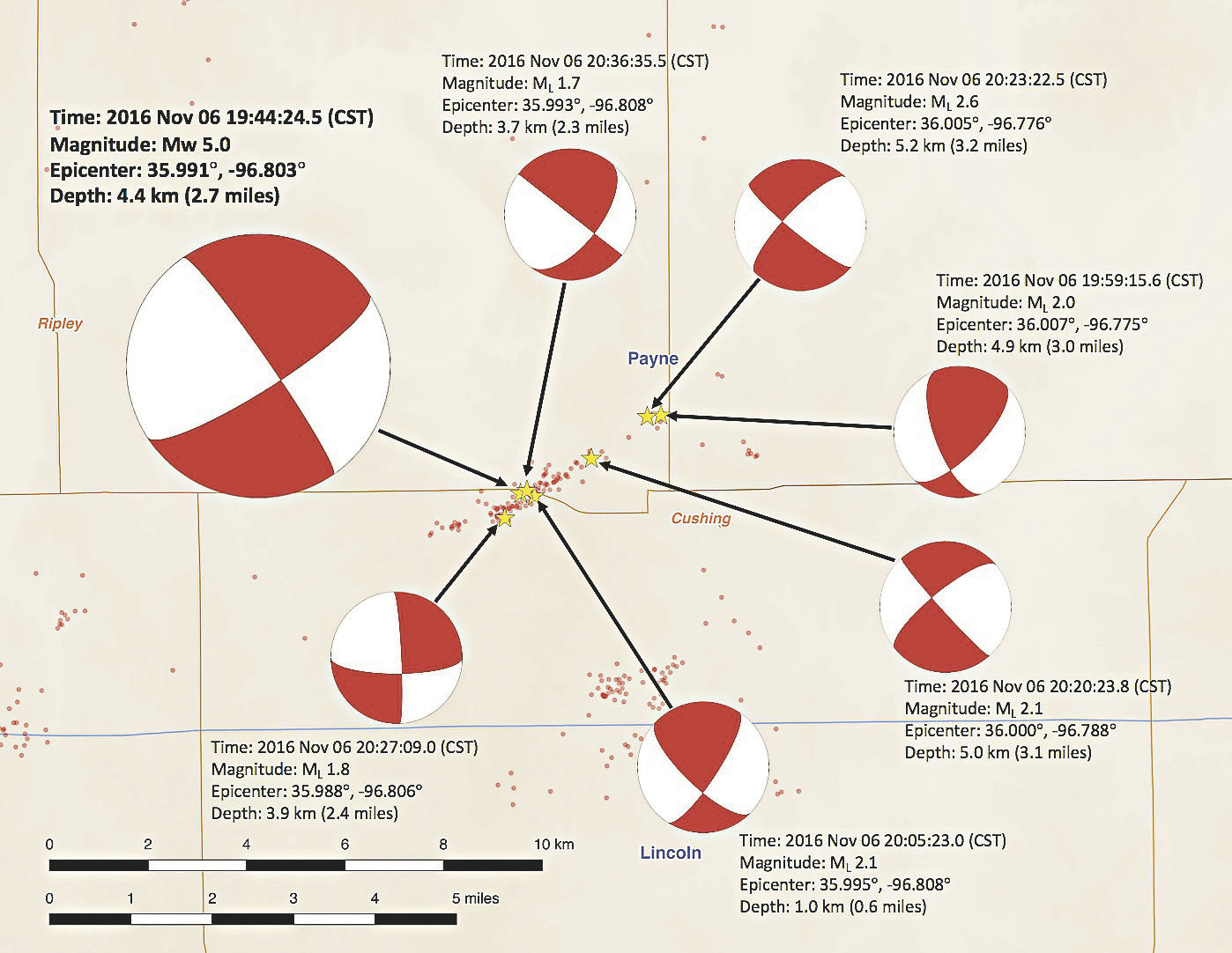 aftershocks occur following damaging quake [ 1200 x 929 Pixel ]