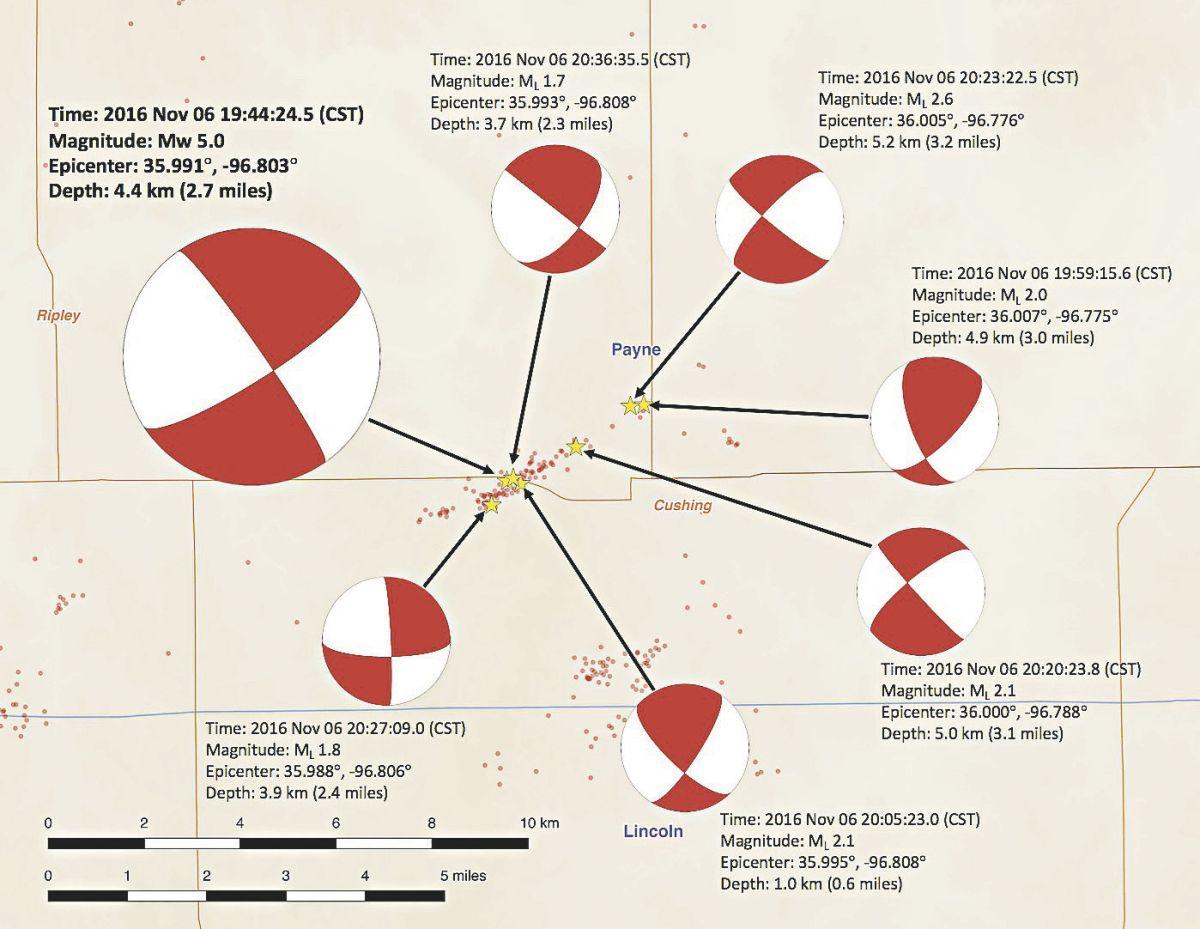 medium resolution of aftershocks occur following damaging quake