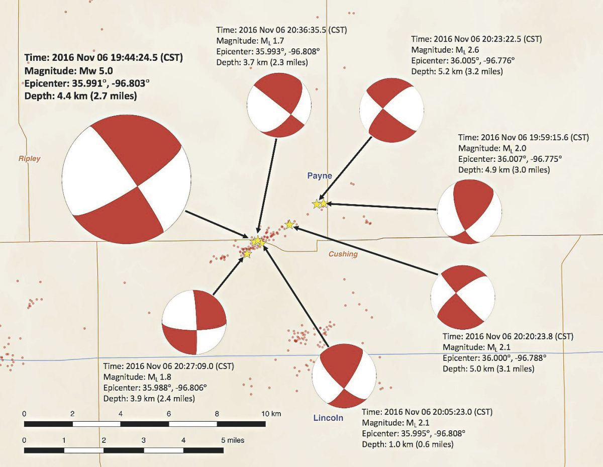 hight resolution of aftershocks occur following damaging quake