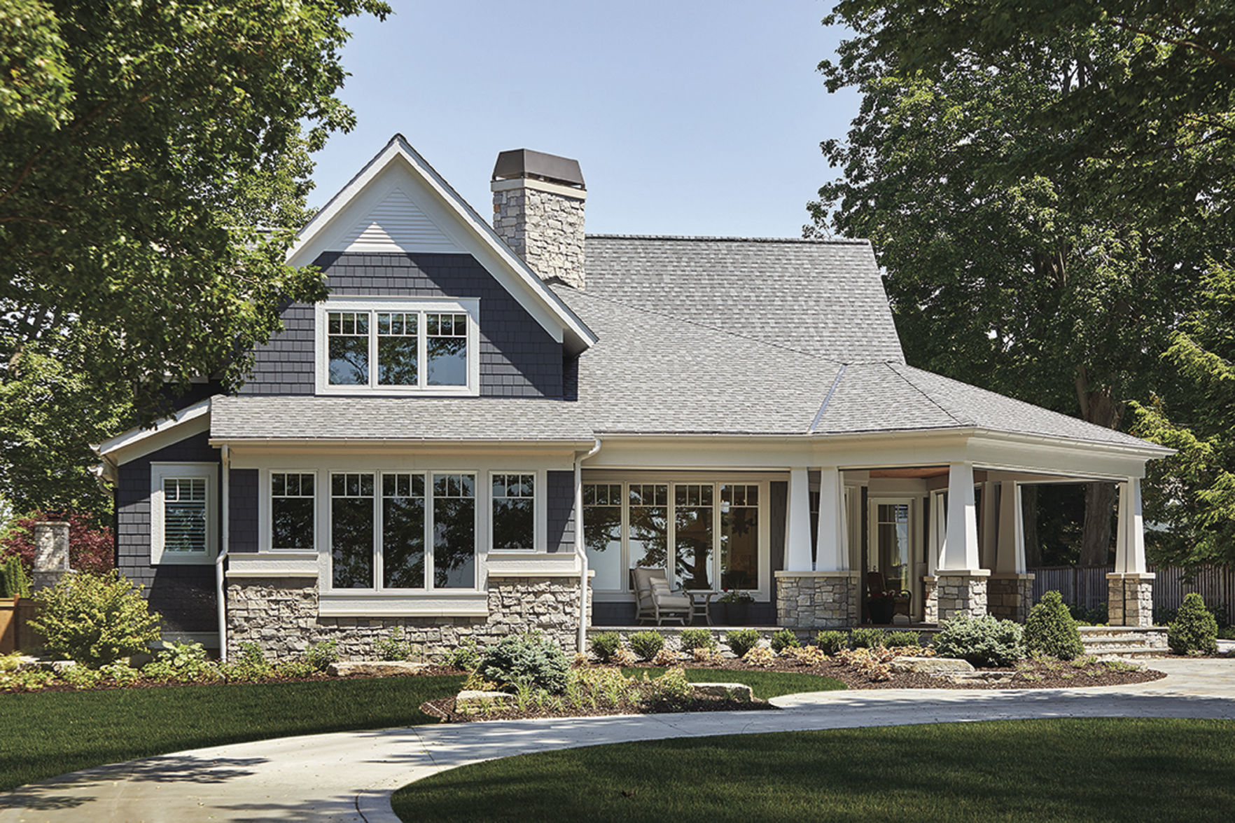 Craftsman Style House Invites Outdoor Living House And