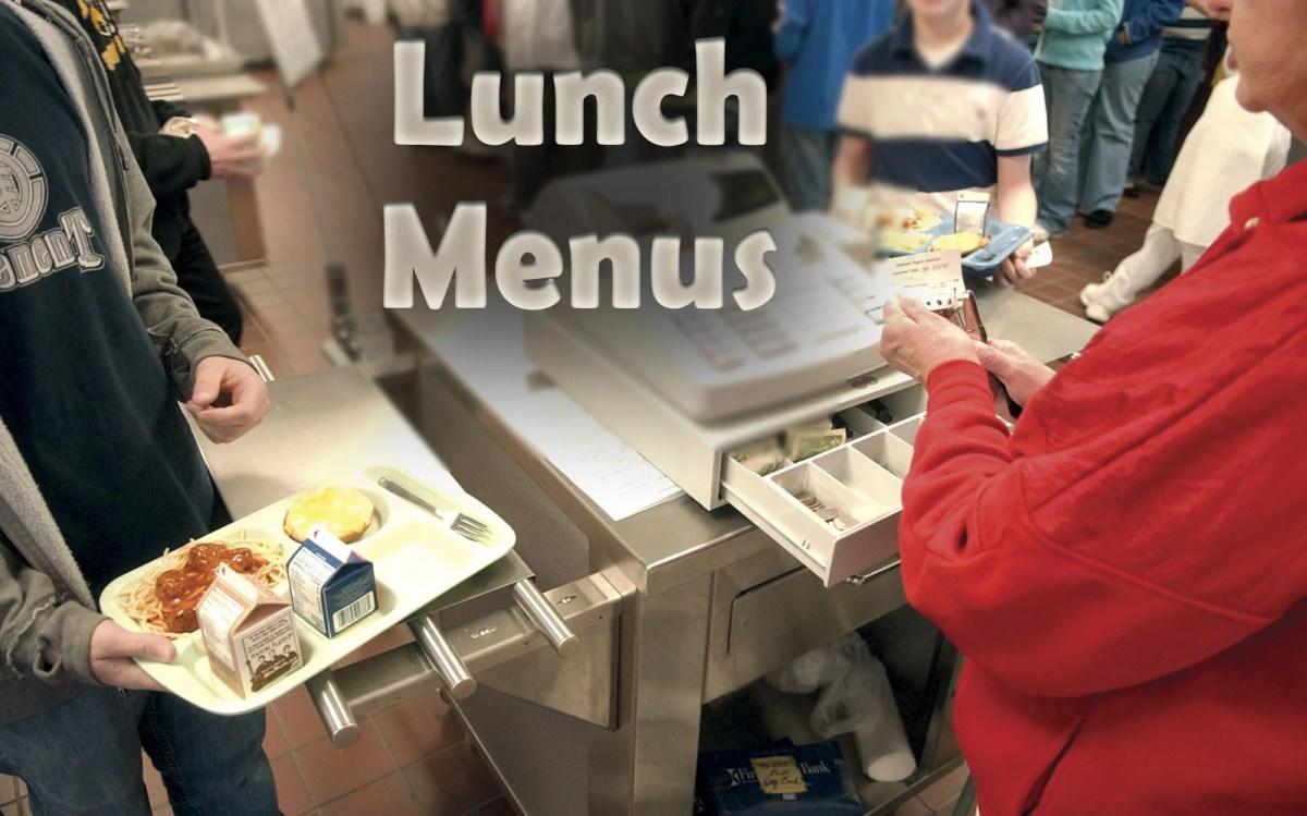Lunch Menu Usd 266
