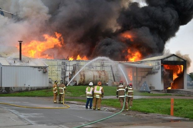 Scribner Grain Facility Destroyed By Fire