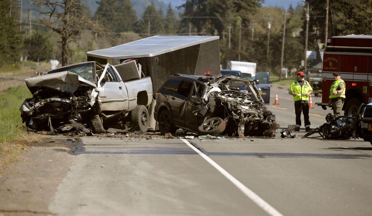 One killed in Highway 20 collision | News | gazettetimes.com