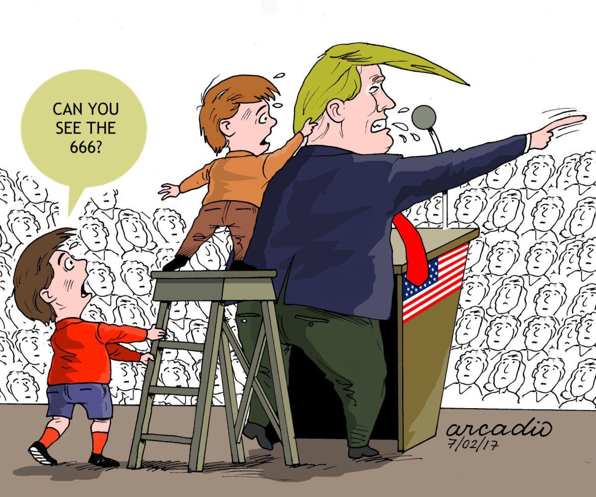 Political Cartoons Europe Trump Schools Putin Column