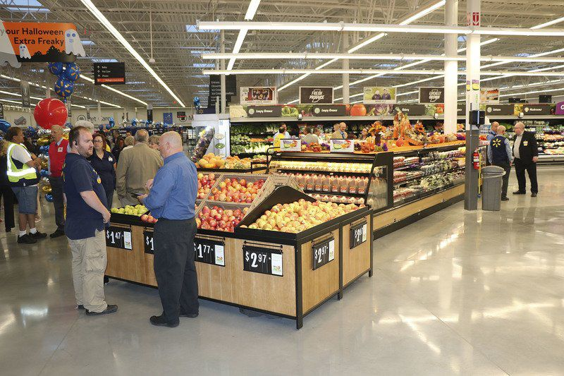 Walmart Holds Opening Event Business Goshennews