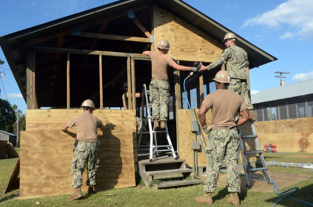 Seabees Civil Engineer Corps and NAVFAC celebrate